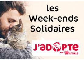 Les week-ends solidaires J'adopte avec Animalis !