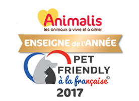 Animalis élue 1ère enseigne Pet Friendly !