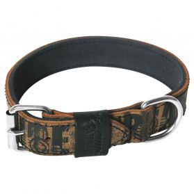 Martin Sellier - Collier Double Urban Tribe pour Chien - 30/45