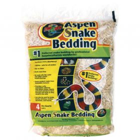 Zoomed - Litiere Snake Bedding pour Serpent Aspen - 4,4L