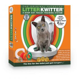 Litter Kwitter - Kit de Toilette pour Chats