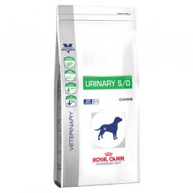 Royal Canin - Croquettes Veterinary Diet Urinary S/O pour Chien - 14Kg