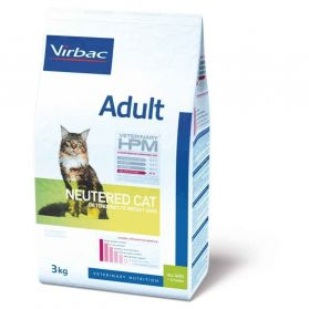 Virbac - Vet HPM - Adult Neutered Cat - 3kg