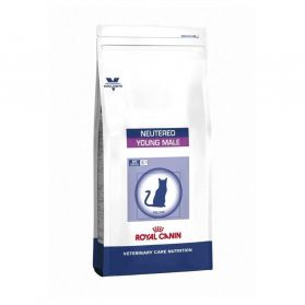 Royal Canin - Croquettes Veterinary Care Neutered Young Male pour Chat - 10Kg