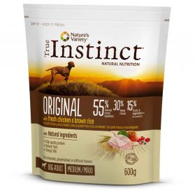 True Instinct - Croquettes Original Adult Medium Maxi au Poulet pour Chien - 600g
