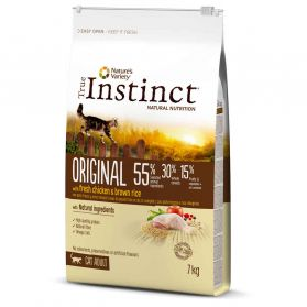 True Instinct - Croquettes Original Adult au Poulet pour Chat - 7Kg