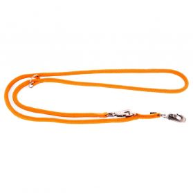 Martin Sellier - Laisse de Dressage Multiposition en Nylon - Orange