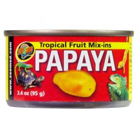 Zoomed - Conserve Tropical Mix-Ins Complément Papaye - 95g