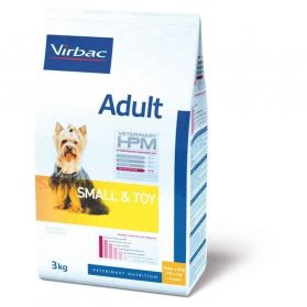 Virbac - Vet HPM - Adult Small & Toy - 3kg