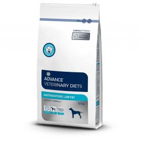 Advance Diet - Croquettes Veterinary Gastroenteric Low Fat pour Chien - 12Kg