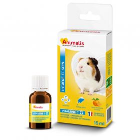 Animalis - Vitamines C pour Cochon d'Inde - 15ml
