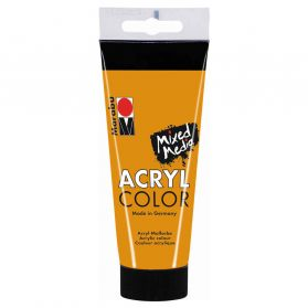 Marabu - Tube AcryColor Couleur Ocre - 100ml