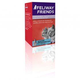 Feliway Friends - Recharge 30J pour le Stress des Chats - 48ml