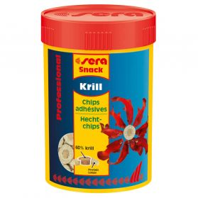 Sera - Chips Adhésives Professional Krill Snack pour Poissons - 100ml