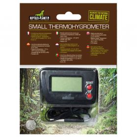 Reptiles Planet - Thermomètre-Hygromètre Digital Small Thermohygrometer pour Terrarium
