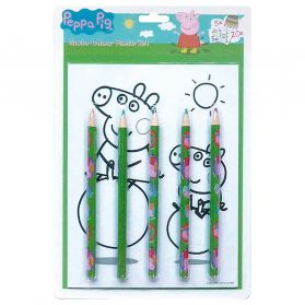 Piccolia - Peppa Pig : Jumbo Set Coloriages et Croquis