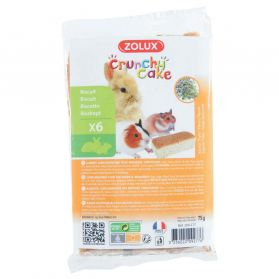 Zolux - Biscuits Crunchy Cake au Thym pour Rongeurs - x6