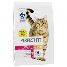 Perfect Fit - Croquettes Adult 1+ au Poulet pour Chat Stérilisé - 2,8Kg