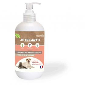 ActiPlant'3 - Shampooing Antiparasitaire pour Chien et Chat - 250ml