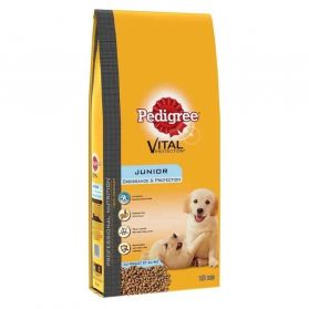 Pedigree - Croquettes Vital Protection Junior au Poulet pour Chiot - 15Kg