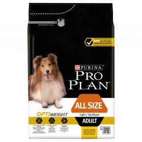 Pro Plan - Croquettes OPTIWEIGHT All Size Light Sterilised Poulet pour Chien