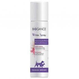Biogance - Shampooing Sec White Spray Blancheur pour Chien - 300ml