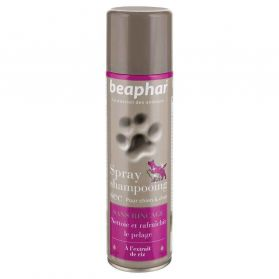 Beaphar - Spray Shampoing Sec pour Chiens et Chats - 250ml