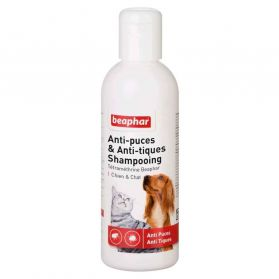 Beaphar - Shampoing Antiparasitaire Chiens et Chats - 200ml