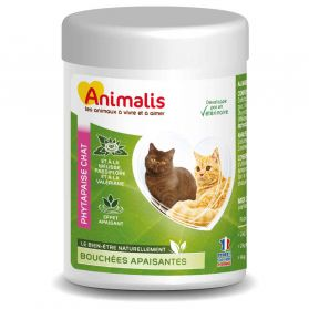Animalis - Bouchées Apaisantes Phytapaise pour Chat - 40g