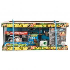 Zoomed - Kit Tortues Aquatiques Premium Reptile Habitat - 68L