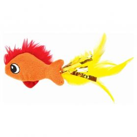 Petstages - Jouet Feather Fish pour Chats