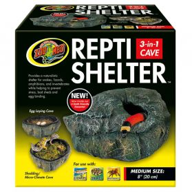 Zoomed - Grotte Repti Shelter pour Reptiles - M