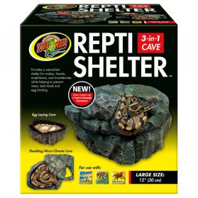 Zoomed - Grotte Repti Shelter pour Reptiles - L