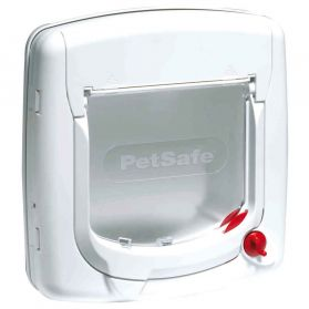 PetSafe - Porte StayWell Luxe 300SGIFD pour Chat - Blanc