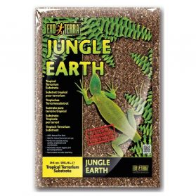 Exo Terra - Substrat Tropical Jungle Earth pour Terrarium - 8,8L