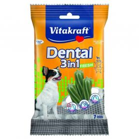Vitakraft - Friandises Dental 3in1 Fresh pour Petits Chiens - 70g