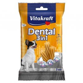 Vitakraft - Friandises Sticks Dental 3in1 pour Petits Chiens - 70g