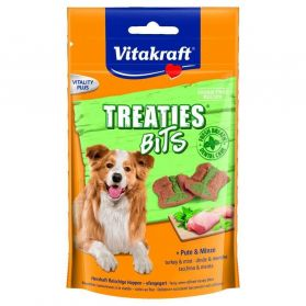 Vitakraft - Friandises Treaties Bits Dental Care pour Chiens - 120g