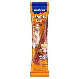 Vitakraft - Friandise Treaties Roll Bacon Style pour Chiens - 26g