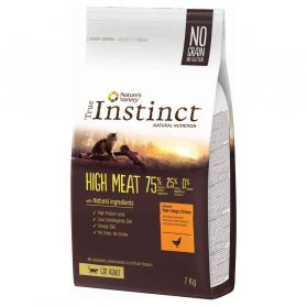 True Instinct - Croquettes Cat High Meat Adult pour Chat - 7Kg