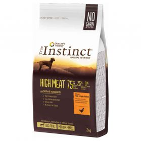 True Instinct - Croquettes High Meat Medium Maxi Adult pour Chien - 2Kg