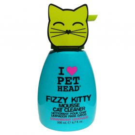 Pet Head - Spray Shampoing Mousse Fizzy Kitty pour Chaton - 200ml