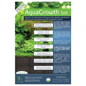 Prodibio - Sol Naturel AquaGrowth Soil pour Aquarium - 9L