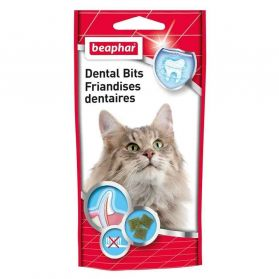 Beaphar - Friandises Dentaires Dental Bits pour Chat - 35g