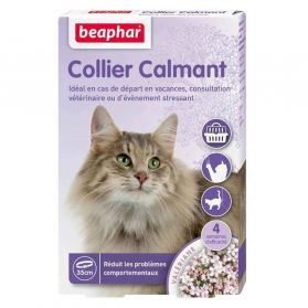 Beaphar - Collier Calmant Anti-stress pour Chat