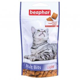 Beaphar - Friandises Light Malt Bits pour Chat - 44g