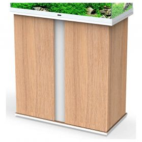 Ciano - Meuble Stand Emotions Nature Pro 80 pour Aquarium - Blanc