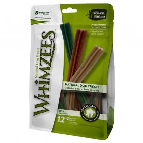 Whimzees - Bâtonnets Nature Dog Treats M pour Chien - x14