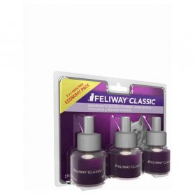 Feliway Classic - Lot Recharge 30J pour le Stress du Chat - 3x48ml