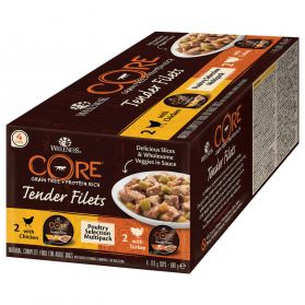 Wellness CORE - Sélection à la Volaille Multipack Tenders Filets pour Chien - 680g